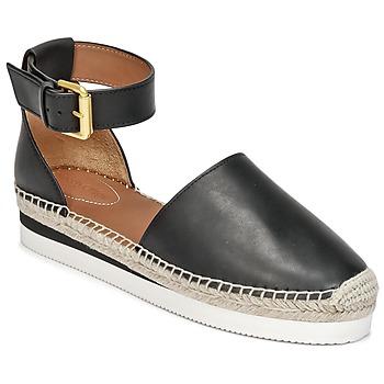 鞋子 女士 帆布便鞋 See by Chloé SB26150 黑色