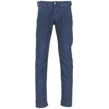 衣服 男士 直筒牛仔褲 Replay WAITOM 海藍色