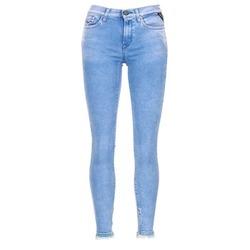 衣服 女士 女士七分裤/女士九分裤 Replay JOI 蓝色 / Edium