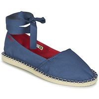 鞋子 女士 帆布便鞋 Havaianas 哈瓦那 ORIGINE SLIM 蓝色
