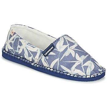 鞋子 帆布便鞋 Havaianas 哈瓦那 ORIGINE ORQUIDEAS 海蓝色 / 白色