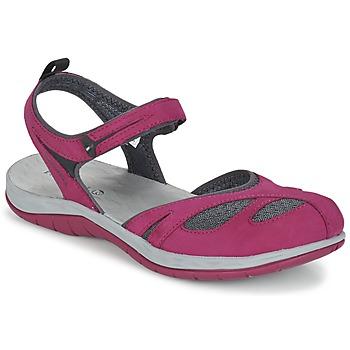 鞋子 女士 凉鞋 Merrell 迈乐 SIREN WRAP Q2 玫瑰色