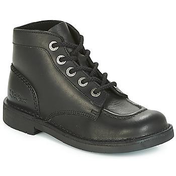 鞋子 女士 短筒靴 Kickers KICK COL PERM 黑色