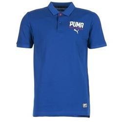衣服 男士 短袖保罗衫 Puma 彪马 STYLE TEC POLO 蓝色