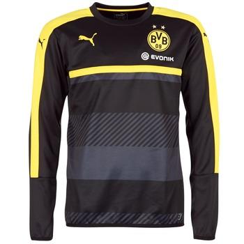衣服 男士 卫衣 Puma 彪马 BVB TRAINING SWEAT 黑色 / 黄色