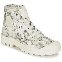 鞋子 女士 短筒靴 Palladium 帕拉丁 US PAMPA HI F 浅米色