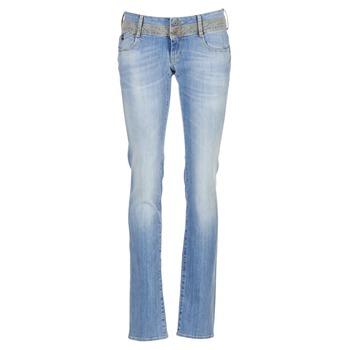 衣服 女士 直筒牛仔裤 Le Temps des Cerises 220 蓝色 / 米色