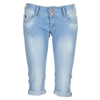 衣服 女士 女士七分裤/女士九分裤 Le Temps des Cerises CHRISTIA 蓝色 / 米色