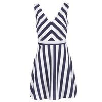 衣服 女士 短裙 Molly Bracken TRODAK 海蓝色 / 白色