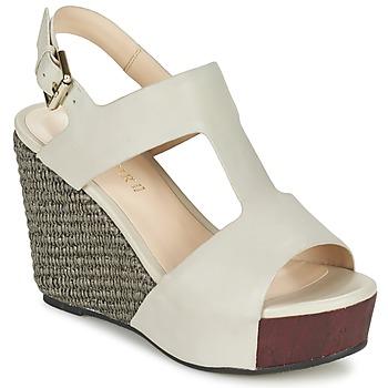 鞋子 女士 凉鞋 Café Noir CHANVIO 米色