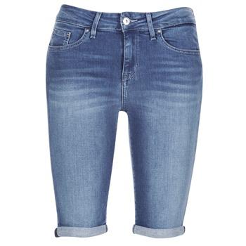 衣服 女士 短裤&百慕大短裤 Tommy Hilfiger VENICE RW BERMUDA ELOISE 蓝色
