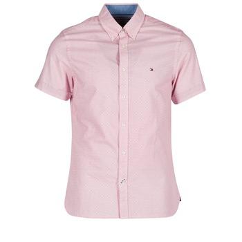 衣服 男士 短袖衬衫 Tommy Hilfiger TAMBER GEO 玫瑰色