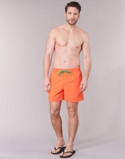 衣服 男士 男士泳裤 Tommy Hilfiger SOLID SWIM TRUNK 橙色
