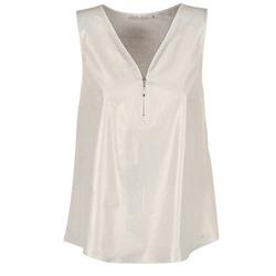 衣服 女士 女士上衣/罩衫 Les P'tites Bombes LOUVALE 白色 / 金色