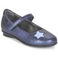 鞋子 女孩 平底鞋 Camper 看步 TWS 蓝色