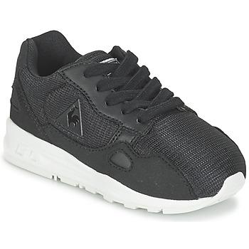 鞋子 儿童 球鞋基本款 Le Coq Sportif 乐卡克 LCS R900 INF MESH 黑色