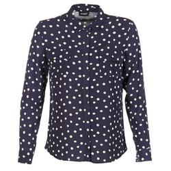 衣服 女士 衬衣/长袖衬衫 Kookai HOLIAVE 海蓝色 / 白色