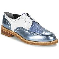 鞋子 女士 德比 Robert Clergerie ROELTM 蓝色 / 金属光泽 / 白色