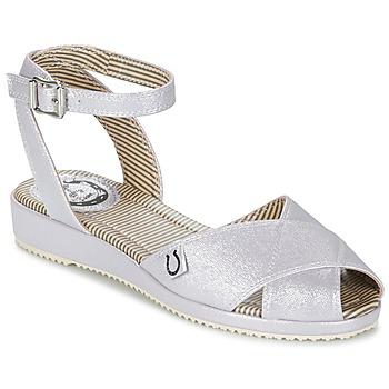鞋子 女士 凉鞋 Miss L'Fire HARLOW 银灰色