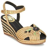 鞋子 女士 凉鞋 Miss L'Fire RENEE 金色