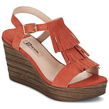 鞋子 女士 凉鞋 Spiral CARLA 橙色