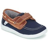 鞋子 男孩 船鞋 Citrouille et Compagnie GASCATO 海蓝色 / 棕色
