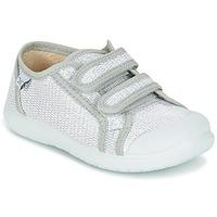 鞋子 女孩 球鞋基本款 Citrouille et Compagnie GLASSIA 银灰色