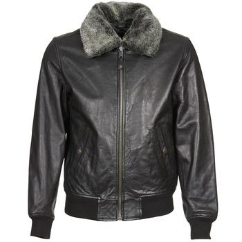 衣服 皮夹克/ 人造皮革夹克 Schott FELIATO 黑色