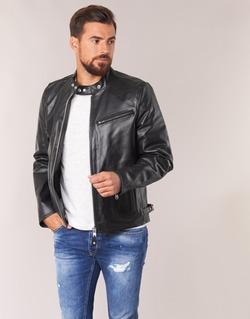衣服 男士 皮夹克/ 人造皮革夹克 Schott LC 940 D 黑色