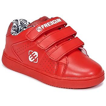 鞋子 儿童 球鞋基本款 Freegun FG ULSPORT 红色 / 白色