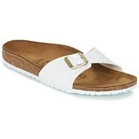 鞋子 女士 休闲凉拖/沙滩鞋 Birkenstock 勃肯 MADRID 白色 / 金色