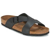 鞋子 男士 休闲凉拖/沙滩鞋 Birkenstock 勃肯 TUNIS 黑色