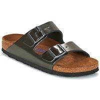 鞋子 女士 休闲凉拖/沙滩鞋 Birkenstock 勃肯 ARIZONA -煤灰色