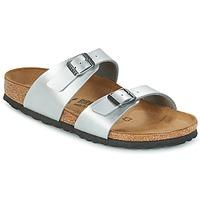 鞋子 女士 休闲凉拖/沙滩鞋 Birkenstock 勃肯 SYDNEY 银灰色