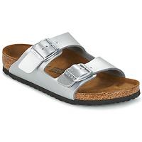 鞋子 儿童 休闲凉拖/沙滩鞋 Birkenstock 勃肯 ARIZONA 银灰色