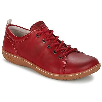 鞋子 女士 德比 Birkenstock 勃肯 ISLAY 红色