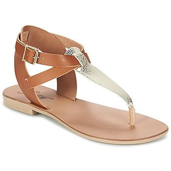鞋子 女士 凉鞋 Betty London VITAMO 驼色 / 金色