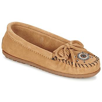 鞋子 女士 皮便鞋 Minnetonka ME TO WE MOC 灰褐色