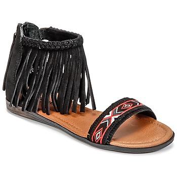 鞋子 女士 凉鞋 Minnetonka MOROCCO 黑色