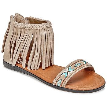 鞋子 女士 凉鞋 Minnetonka MOROCCO 灰褐色