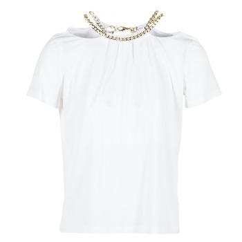 衣服 女士 女士上衣/罩衫 Versace Jeans B2HPB721 白色