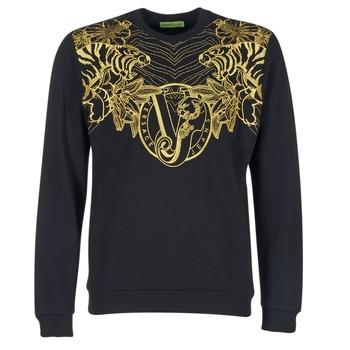 衣服 男士 卫衣 Versace Jeans B7GPB7F0 黑色