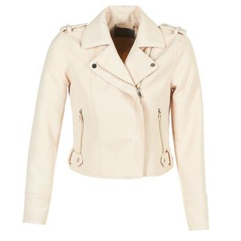 衣服 女士 皮夹克/ 人造皮革夹克 Vero Moda SOFIA 米色