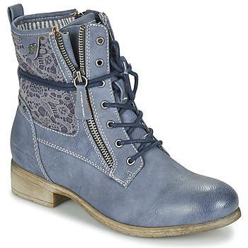 鞋子 女士 短筒靴 Tom Tailor 汤姆裁缝 RELOUNI 蓝色