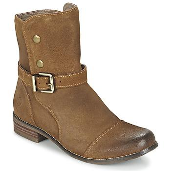 鞋子 女士 短筒靴 Kdopa  驼色