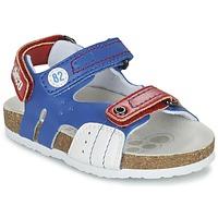 鞋子 男孩 凉鞋 Chicco HELIO 蓝色 / 白色 / 红色