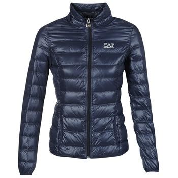 衣服 女士 羽绒服 EA7 EMPORIO ARMANI TRAIN CORE 海蓝色