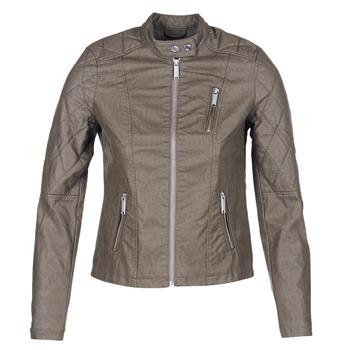 衣服 女士 皮夹克/ 人造皮革夹克 S.Oliver REZATO 灰褐色