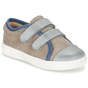 鞋子 男孩 球鞋基本款 Citrouille et Compagnie GOUTOU 灰色 / 灰褐色 / 蓝色
