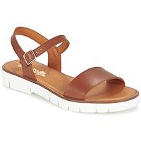 鞋子 女孩 凉鞋 Citrouille et Compagnie GLAPOTTI 驼色